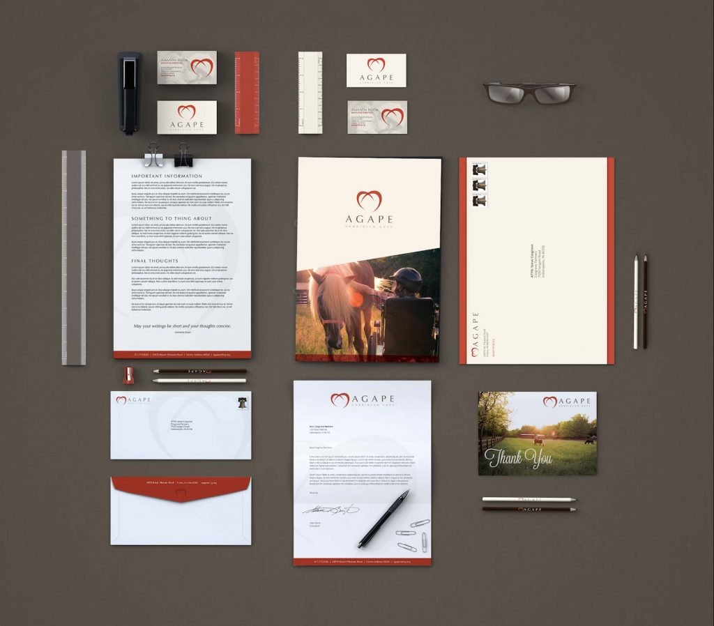 Agape Branded Collateral