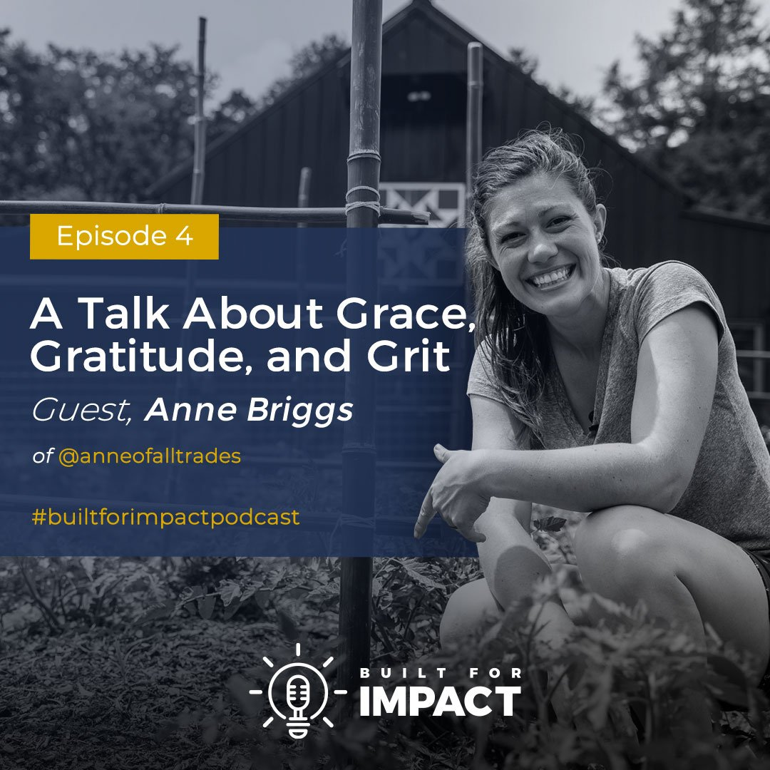 Built for Impact podcast with guest Anne of All Trades